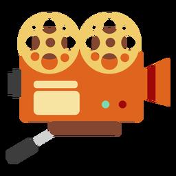 Elemento da câmera de filmagem