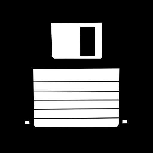 Floppy disk cool