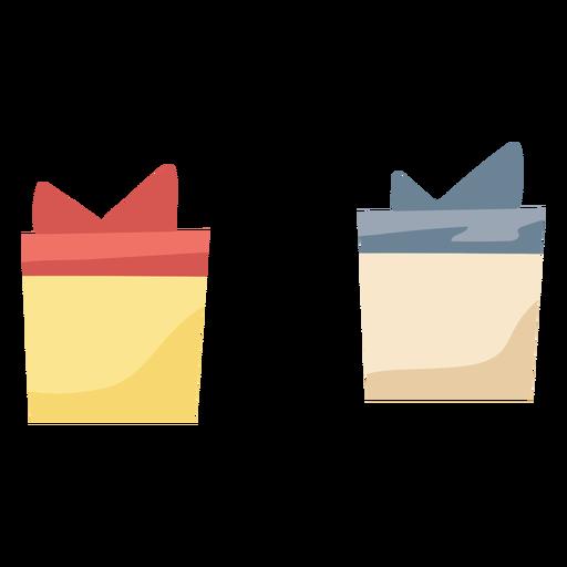 Regalos simples navidad Transparent PNG