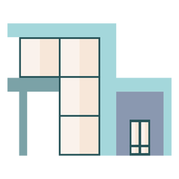 Ventanas acristaladas casa moderna