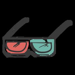 Gafas 3d impresionante