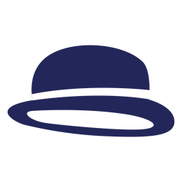 Silhueta de chapéu londres