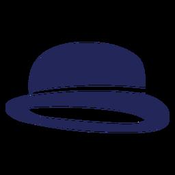 Sombrero londres silueta