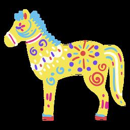 Caballo mexicano plano