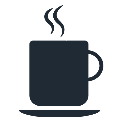Hot cup silhouette