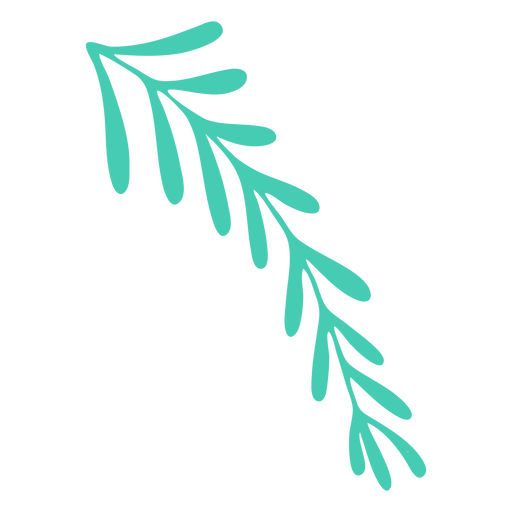Leaves simple christmas Transparent PNG