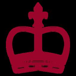 Silhueta de coroa de Londres