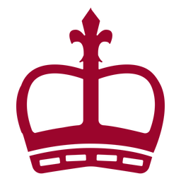 Silueta de la corona de Londres
