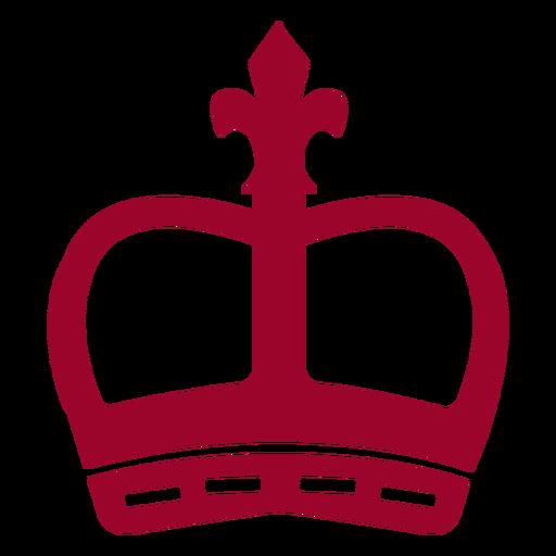 London crown silhouette Transparent PNG