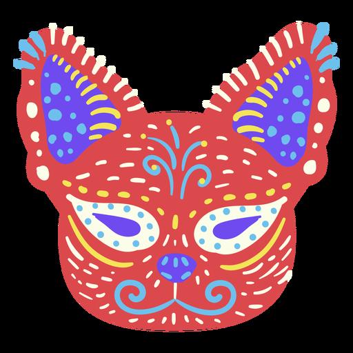 Mexican cat sculpture