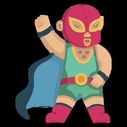 Lutador mexicano bonito