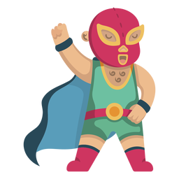 Mexican fighter cute