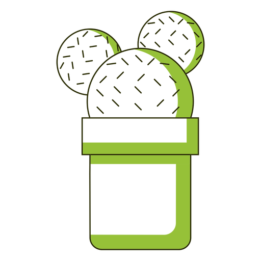 Mickey ears cactus illustration Transparent PNG