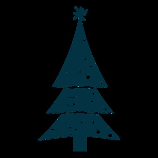 Bonito árbol de navidad abstracto Transparent PNG