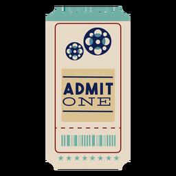 Bonito boleto de cine