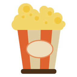 Buen cine de palomitas de maíz