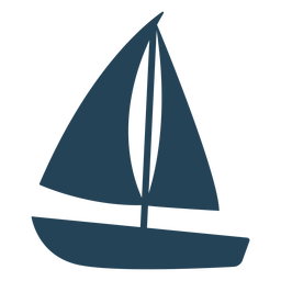 Belo vetor de veleiro