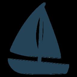 Bonito velero vector