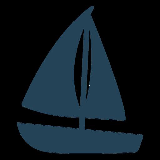 Nice sailboat vector Transparent PNG