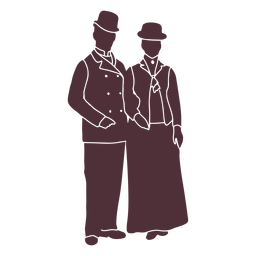 Old era duo silhouette