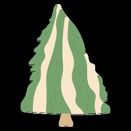 Nieve del árbol de pino