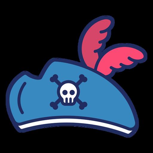 Pirate hat flat