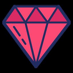 Diamante bonito plana