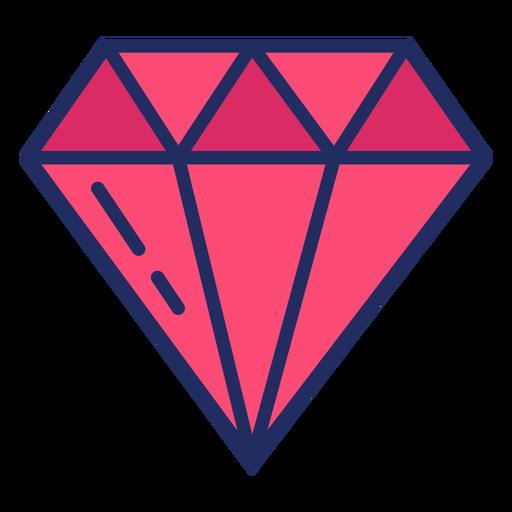 Bonito piso de diamantes