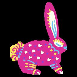 Conejo mexicano plano