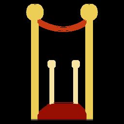 Zeremonie auf dem roten Teppich