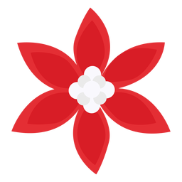 Red petals flower