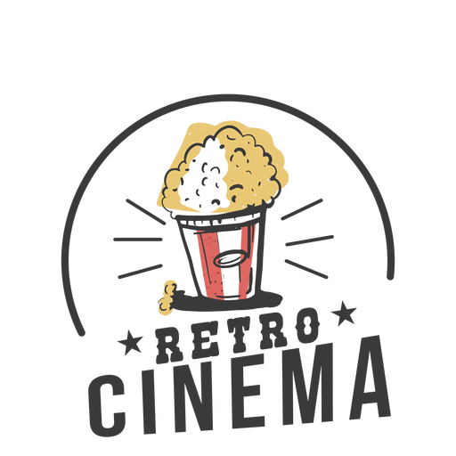 Cine retro genial Transparent PNG