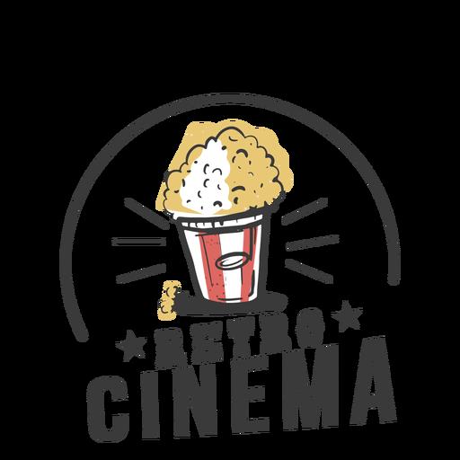 Retro cinema cool Transparent PNG
