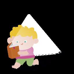 Running boy book