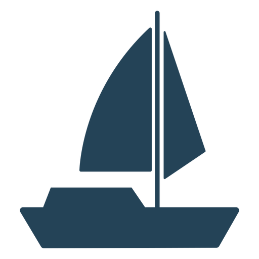 Sailboat vector awesome Transparent PNG