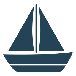Sailboat vector cool