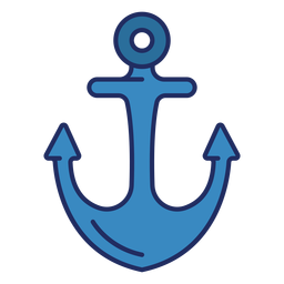 Ship anchor flat