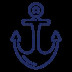 Schiff Anker Hub Boot