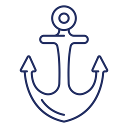 Ship anchor stroke boat