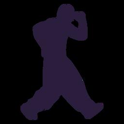 Silhouette dancer dubstep