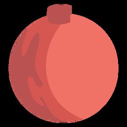 Elemento de Natal de bola simples