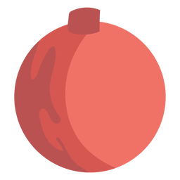 Simple ball christmas element