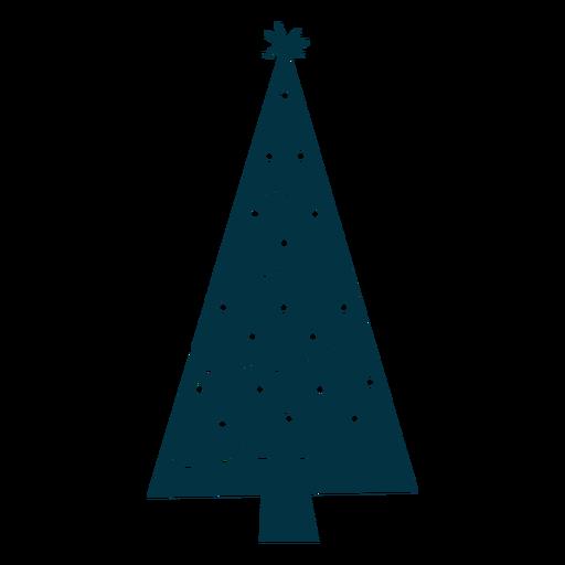 Resumen simple árbol de navidad Transparent PNG