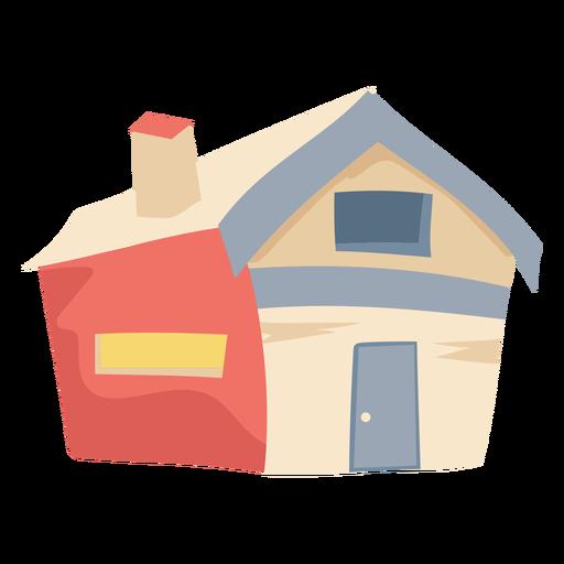 Chimenea de casa simple