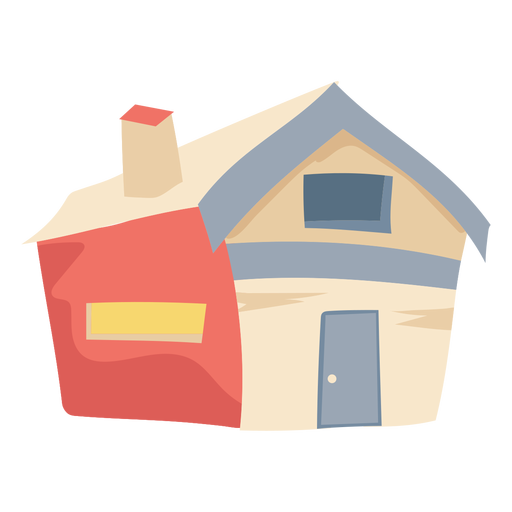 Simple house chimney