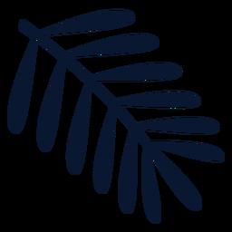 Elemento de hoja simple
