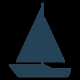 Simple sailboat vector
