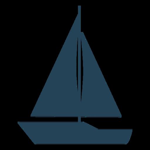 Vetor de veleiro simples