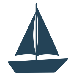 Simple vector sailboat