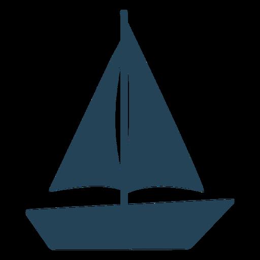 Simple vector sailboat Transparent PNG